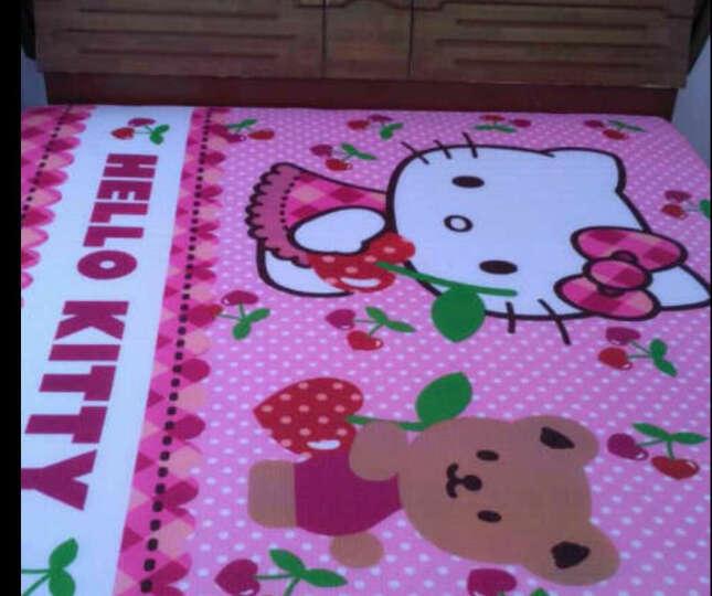 明德 Hello kitty凯蒂猫200*180cm野餐垫 防潮垫 帐篷垫 樱桃地垫KT-K610501 晒单图
