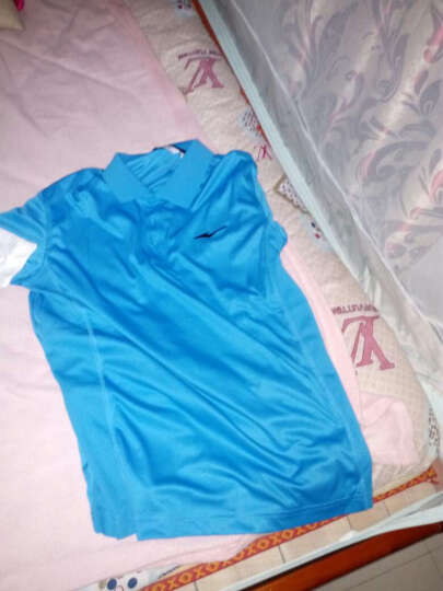 ERKE鸿星尔克短袖T恤 夏季圆领男士运动服透气速干吸汗男装上衣 大红9164 XL 晒单图