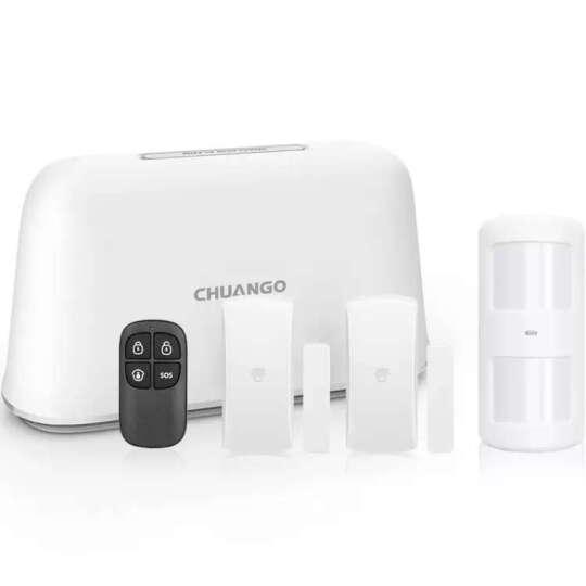 创高 Chuango EC-V5 安防配件礼包 无线警号门磁红外套装 晒单图