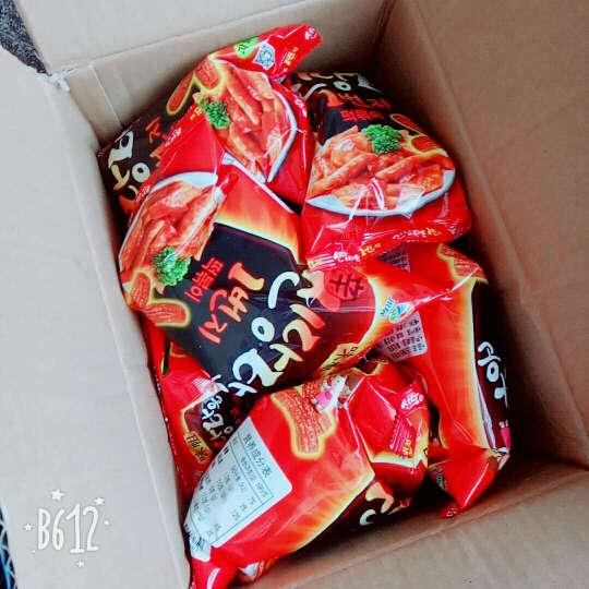 韩国进口零食 Jiur九日牌甜辣炒年糕6袋  辣味打糕条 韩式膨化炒糕饼干 甜辣炒年糕条100g*6袋 晒单图
