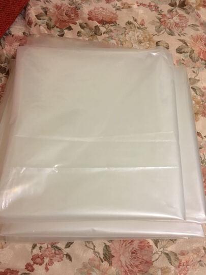 春之意 加厚薄膜袋 PE平口透明高压塑料袋 搬家打包棉被袋行李袋(尺寸厚度可定) 12丝 透明【单个装】 通用110*120cm 晒单图