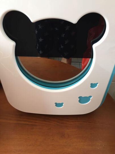 奶瓶消毒器带烘干紫外线消毒柜美婴儿的消毒锅宝宝玩具内衣杀菌收纳 蓝白米奇双灯管加强型 晒单图