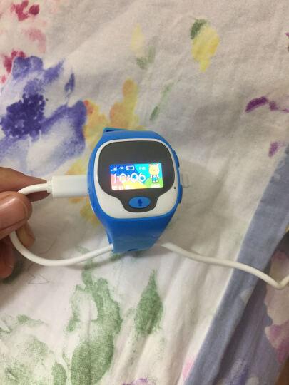 优彼(ubbie)电话手表(蓝色) 语音拨号英文翻译智能百科问答儿童手表 学生360度安全定位微聊通话手环手表 晒单图