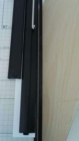 得力(deli) 木质切纸刀裁纸刀切纸机铡刀裁纸机照片切刀铡刀 钢质切纸刀300*250mm 晒单图