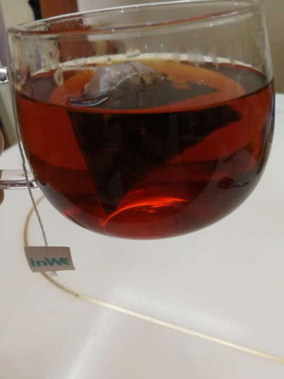 inWE因味茶小黑方花茶组合茶包花草茶玫瑰花茶茶叶红茶绿茶普洱袋泡茶10包 晒单图