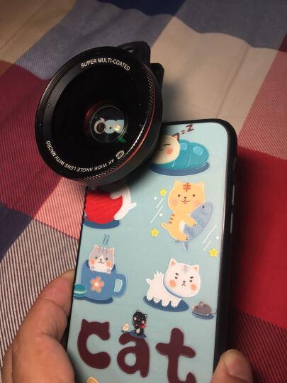 C&C手机镜头广角微距二合一套装苹果通用拍照单反外置摄像头高清0.6玫瑰金 晒单图