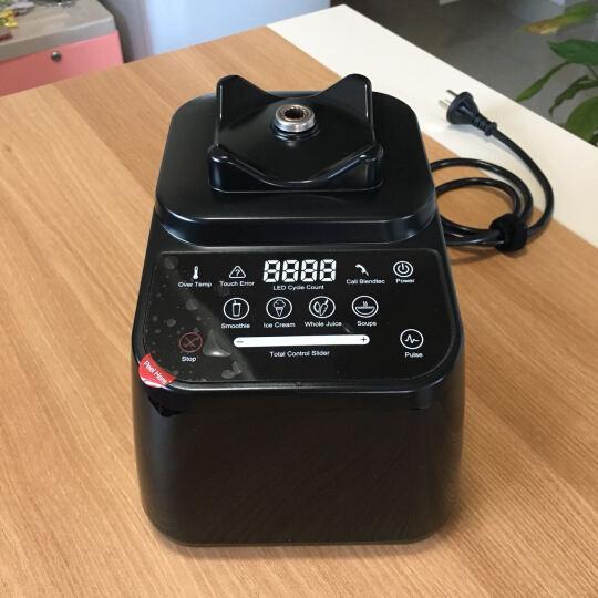 Blendtec 美国原装进口破壁机加热 家用多功能搅拌机 破壁料理机 果汁豆浆机 时尚款625绿色 晒单图