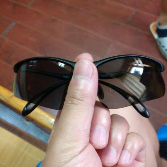 台湾VAUN 维恩 骑行眼镜偏光 铁人三项眼镜 山地防风眼镜 钓鱼开车 跑步运动眼镜 黑色运动偏光 晒单图