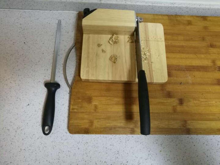 膳道 铡刀家用中药材切片机手动年糕切片刀切肉铡刀牛羊肉切片机 木质底座 晒单图