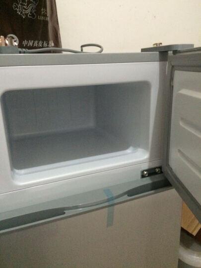 喜力(XIL) BCD-112 112升 双门小冰箱 冷藏冷冻 家用两门迷你小型冰箱 101升 橙色 晒单图