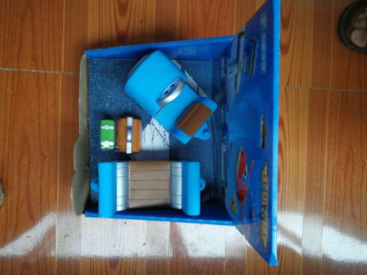 奥迪双钻(AULDEY)超级飞侠玩具套装大礼盒大号变形机器人 Q版机器人套装-乐迪720351 晒单图