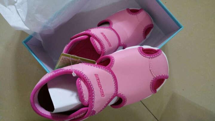 dr.kong江博士童鞋男童鞋女童凉鞋夏季新款包头凉鞋宝宝轻便凉鞋S10172W003 粉红色 28码/18.3cm 晒单图