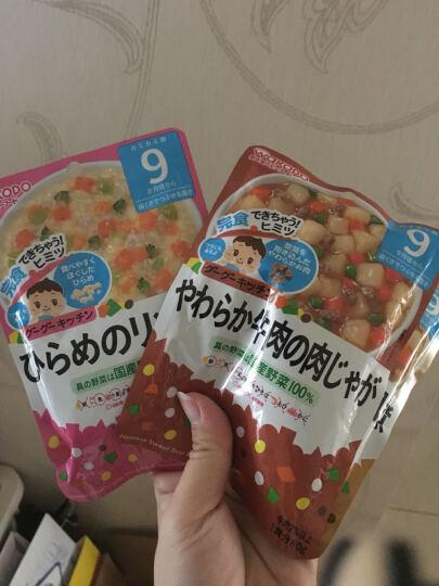 和光堂(Wakodo) 日本原装进口和光堂辅食粥 宝宝婴儿辅食米粉 鸡肉绿黄色蔬菜泥 晒单图