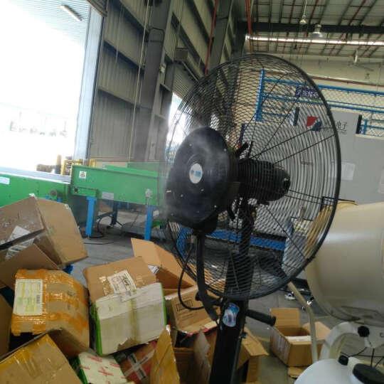 双酷(SEASUNCOOL) 三防工业喷雾风扇 加水加湿商用落实扇 雾化水冷户外落地风扇 65加强款 三防电机 晒单图