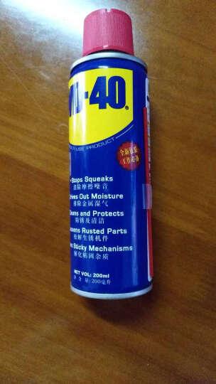 美国WD-40  多用途防锈剂,润滑剂门锁除锈剂,螺丝松动剂,防锈油,润滑油 350ML 晒单图