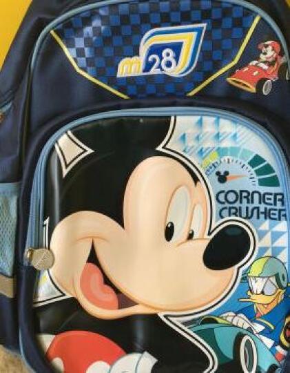 迪士尼 (Disney)米奇 儿童书包 男款可爱卡通休闲书包背包1-2年级小学生书包 书包DB96133A-兰色 晒单图