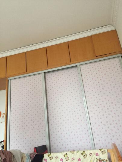 俊艺 壁纸墙纸自粘加厚墙贴田园卧室客厅电视背景墙翻新墙贴 180-粉底淡雅小花 90厘米宽*5米长 晒单图