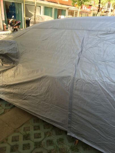 卡耐银邦车衣大众Polo两厢专用(灰色)秋冬加绒加厚防尘防雨防雪霜车套车罩汽车用品 晒单图