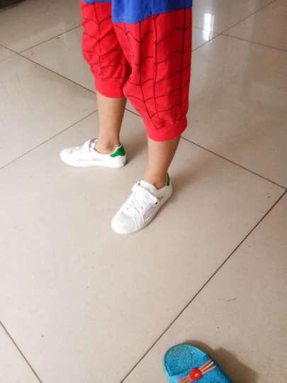 飞耀 儿童凉鞋2017夏季新款男童凉鞋女童网鞋 韩版沙滩鞋 超纤洞洞鞋 白绿 29 晒单图