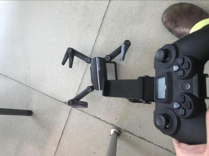兽遥控飞机SG906折叠无人机航拍四轴飞行器4K超清航拍无刷电机光流+双GPS定位直升飞机航模型 三锂电超清WiFi实时航拍-黑色 晒单图