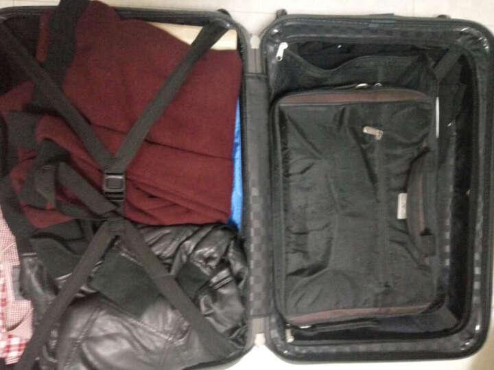 瑞动(SWISSMOBILITY)拉杆箱PC+ABS时尚轻盈登机箱旅行行李箱20英寸万向轮MT-5553-23T00奢华银 晒单图