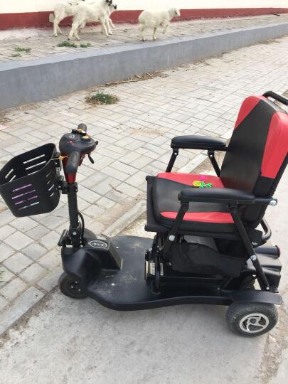 威之群(wisking)电动三轮车老年代步车小型可折叠易携带轻便残疾人助力车老人四轮电动车 12A铅酸电池国产控制器 晒单图
