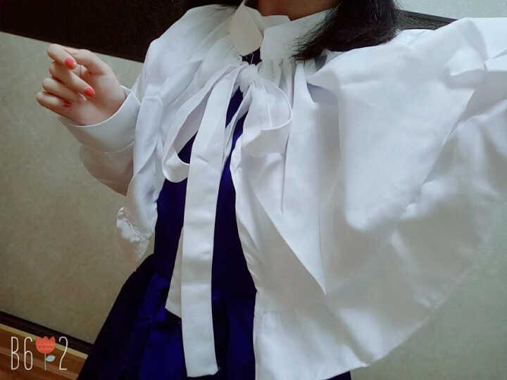 赫搏2020 魔卡少女樱 大道寺知世cos小樱 歌唱家长裙 cosplay日本动漫 袜 M(156-165) 晒单图