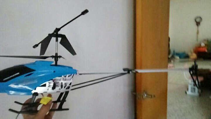 歪猴(wawho) 遥控飞机 无人机85cm大型耐摔直升机3.5通合金航模飞行器遥控玩具 旗舰85cm蔚海蓝(全身灯光)+豪华配件包 晒单图