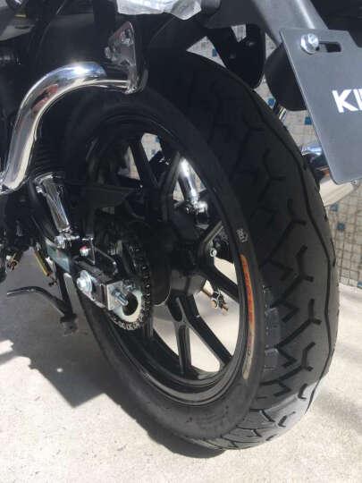 启典KIDEN摩托车 2017升级版KD150-K后毂刹款 单缸风冷150cc骑式车 宝石红升级版(后毂刹) 2017大货架款 晒单图