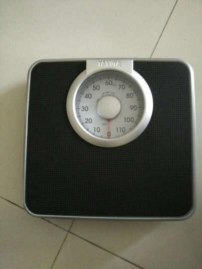 百利达TANITA机械秤体重秤人体秤HA-620家用健康秤弹簧体重计 黑色 晒单图
