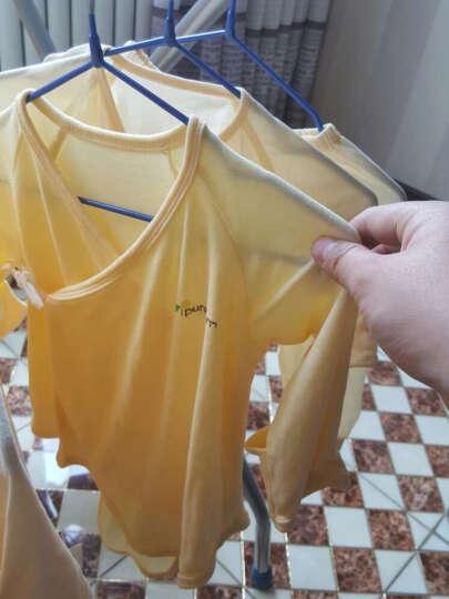 pureborn博睿恩新生儿衣服四季婴儿礼盒满月宝宝纯棉内衣套装礼盒 黄色 3M/0-3个月 晒单图