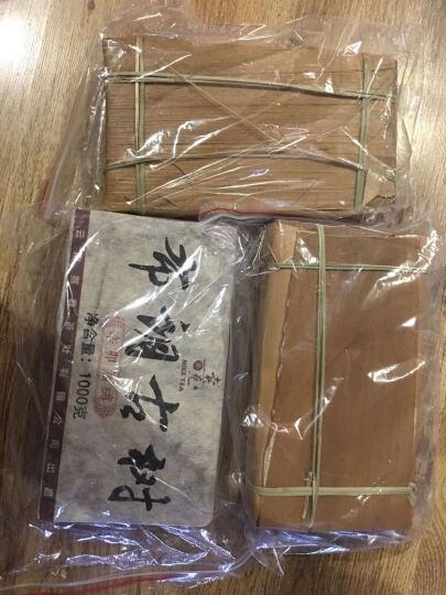 卖克(普洱茶砖家)布朗山500古树茶1000g高端熟茶砖茶 西双版纳熟茶古树纯料 熟 晒单图