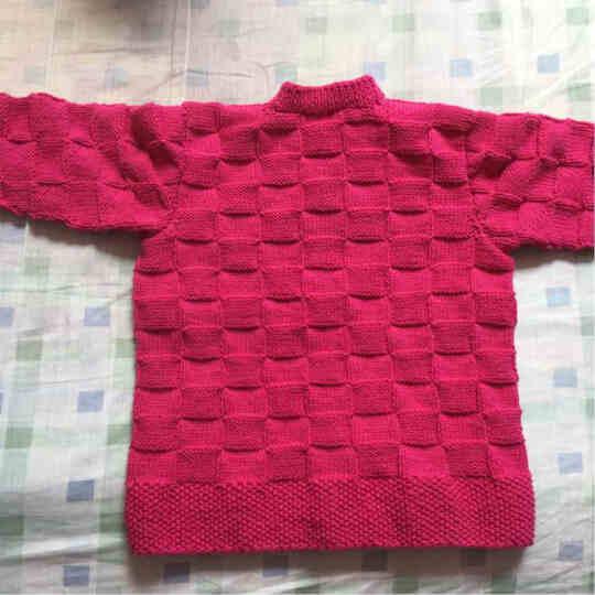 艾秀 纯棉线 棉纱线宝宝毛线 【2.5两】牛奶棉线 婴儿童毛线 全棉毛线精梳棉毛线 222小鸡黄 晒单图