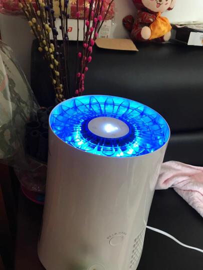美的(Midea) 空气加湿器SZK-3B20 家用蒸发式无雾 办公室卧室加湿器 晒单图
