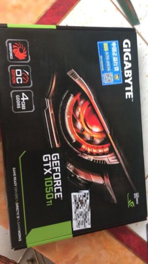 ?技嘉(GIGABYTE)台式电脑独立显卡 GTX1050TI 4G wf2oc 风魔 晒单图