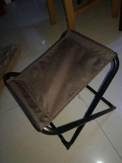 双鑫达 凳子 折叠椅 休闲椅凳 便携户外钓鱼高折叠椅凳子 马扎 C-01 大号 晒单图