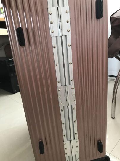vanwalk 多功能商务拉杆箱 大容量行李箱 休闲旅行箱 玫瑰金 29寸 晒单图