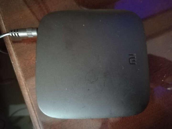 小米(MI)小米盒子3C 智能网络机顶盒 4K电视 H.265硬解  安卓网络盒子 高清网络播放器  黑色 晒单图