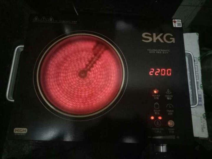 SKG电磁炉电陶炉家用茶壶炉不挑锅三环双控1601 晒单图
