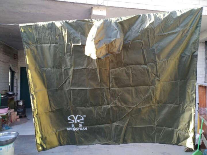全能量 户外多功能三合一雨衣野营骑行背包雨披徒步轻便防雨罩E1028 军绿色 晒单图