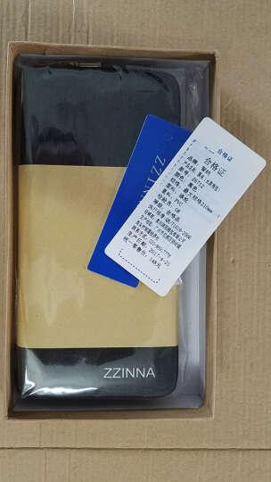 智纳(ZZINNA)胸包男单肩斜挎包学生旅游休闲运动包韩版潮流小背包 黑灰色+钱包 胸包 晒单图
