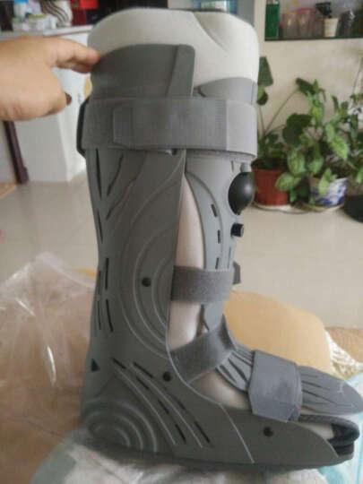 zeazen 跟腱靴康复鞋足托脚踝踝关节固定支具石膏鞋足内翻足外翻扭伤医用护踝护具跟腱断裂 右脚 高档款可充气 S 晒单图