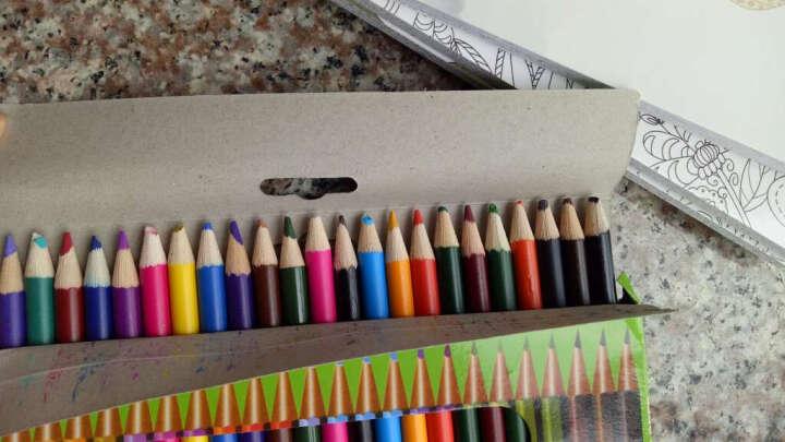 4册 神秘花园 正版 填色书 手绘 成人减压书 创意涂鸦填色 秘密花园 涂色书 彩铅画 晒单图