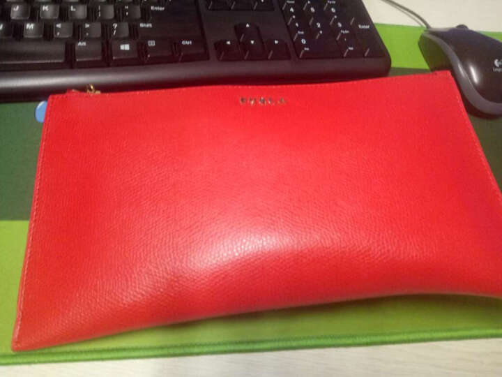 芙拉(Furla) BABYLON女士系列红色牛皮手拿包 841580 晒单图