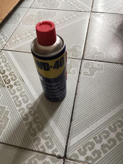 WD-40 防锈剂除锈剂润滑剂 WD40润滑脂除尘剂清洁门窗锁润滑剂 400ML一瓶 晒单图