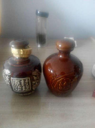 龙凤土陶空酒瓶四川陶瓷泡白酒壶坛子罐2两1斤2斤3斤5斤10斤装 装水容量1斤 晒单图