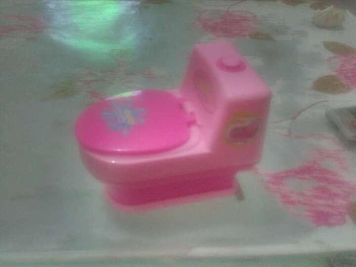锦华丰(JINHUAFENG) 迷你小家电玩具系列 电动仿真儿童过家家女孩做饭厨房厨具 迷你马桶 晒单图