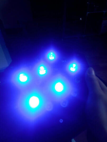 创安达 舞台彩灯KTV灯光18颗LED帕灯演出KTV酒吧染色灯婚庆全彩背景投光灯元旦派对灯元旦节 18颗帕灯+遥控 晒单图