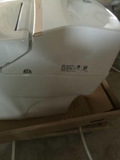 美标 自动一体智能坐便器马桶连体遥控坐厕豪华电动马桶雅乐5392/5392 5392(时尚金边设计) 300坑距 晒单图