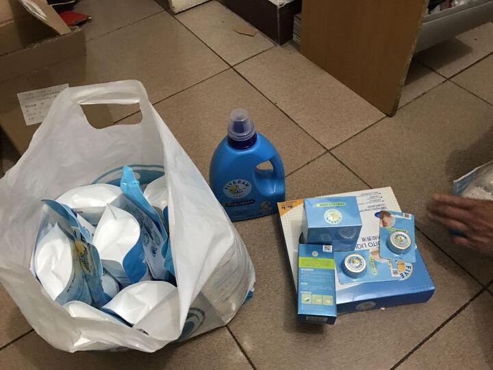 五羊(FIVERAMS)宝宝专用洗衣液500g×8包儿童婴儿洗衣液(包装升级新老包装随机发货) 晒单图
